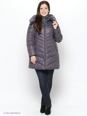 Пальто Vlasta. Цвет: серый, бронзовый, серый меланж