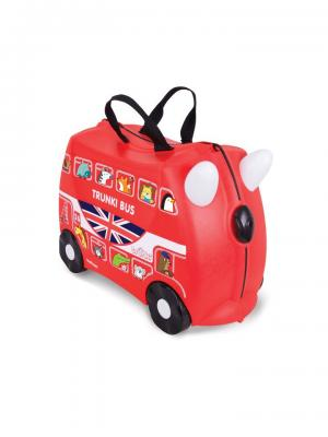 Чемодан на колесиках Автобус TRUNKI. Цвет: черный, красный, белый