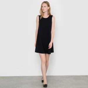 Платье Cosette SUNCOO. Цвет: темно-синий