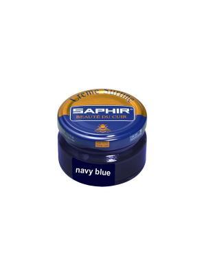 Крем для гладкой кожи Creme Surfine, 50мл. (темно-синий) Saphir. Цвет: темно-синий