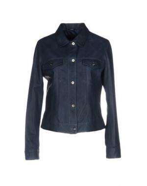 Куртка OLIVIERI. Цвет: синий