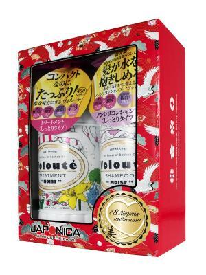 Набор подарочный VOLOUTE Moist по уходу за волосами шампунь + кондиционер Ринго. Цвет: красный, желтый
