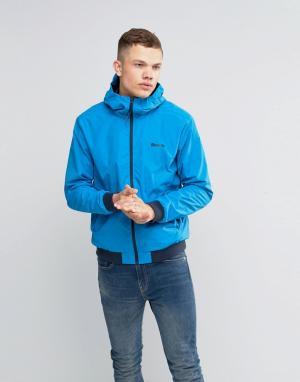 Bench Легкая синяя куртка на молнии. Цвет: синий