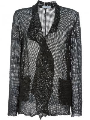 Пиджак с карманами спереди Salvatore Santoro. Цвет: чёрный