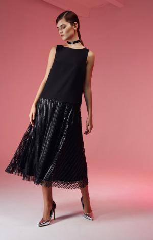 Платье Черное Cavo