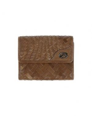 Бумажник FRANCESCO BIASIA. Цвет: хаки