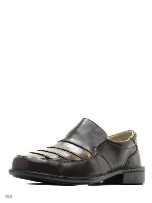 Туфли GUT. Цвет: темно-коричневый