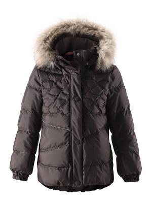Пальто Reima. Цвет: коричневый