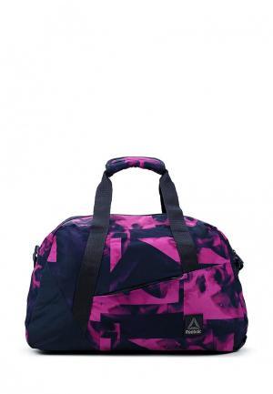 Сумка спортивная Reebok. Цвет: розовый