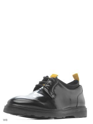Туфли Sisley. Цвет: черный
