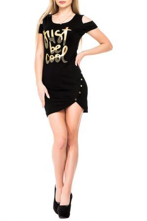 Платье Magnet. Цвет: черный