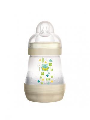 Бутылочка для кормления MAM Anti-Colic, 160 мл. Цвет: бежевый, белый