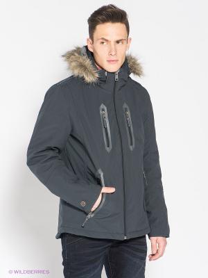 Куртка TOM TAILOR. Цвет: серо-голубой