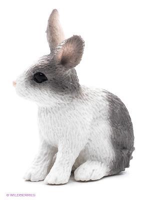 Кролик SCHLEICH. Цвет: белый, серый