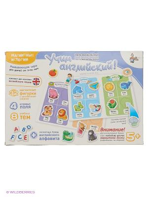Магнитные истории  Учим Английский. Дополнительный набор Десятое королевство. Цвет: белый, голубой