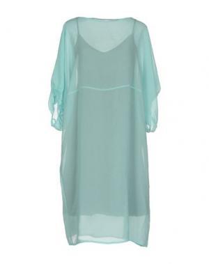 Короткое платье LAVINIATURRA. Цвет: небесно-голубой