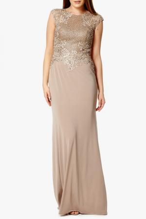 Платье Dynasty. Цвет: beige