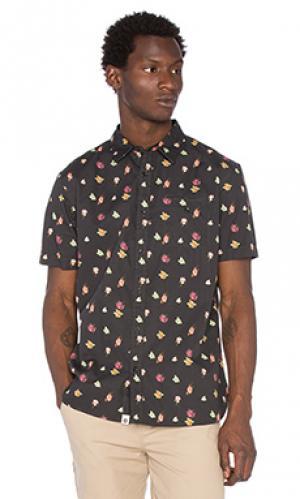 Рубашка joe ourCASTE. Цвет: черный
