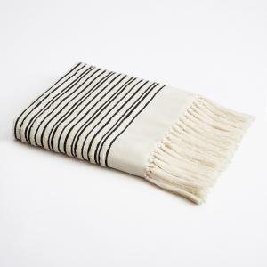 Банное полотенце формата макси Kupigwa By V. Barkowski AM.PM.. Цвет: серый,черный