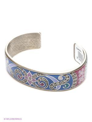 Браслет Clara Bijoux. Цвет: синий, бордовый, фиолетовый