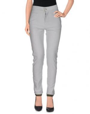 Повседневные брюки G2CHOICE. Цвет: серый