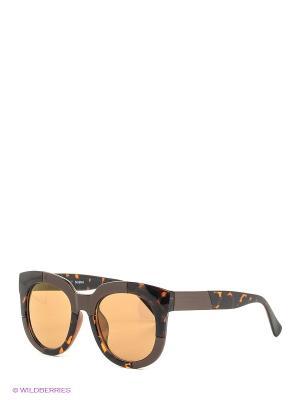 Солнцезащитные очки Selena. Цвет: коричневый