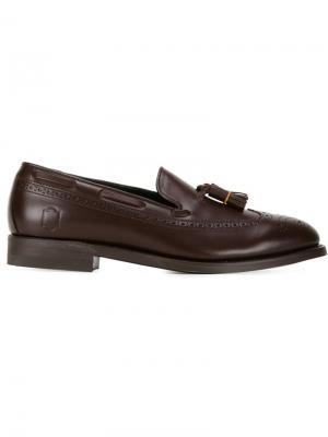 Лоферы Mr.Gentleman x Regal Mr. Gentleman. Цвет: коричневый