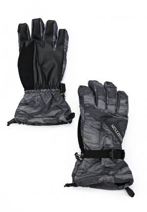 Перчатки горнолыжные Burton. Цвет: серый