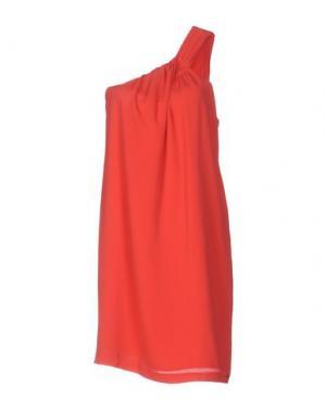Платье до колена KORALLINE. Цвет: коралловый