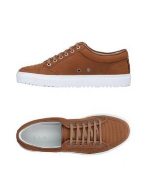 Низкие кеды и кроссовки ETQ AMSTERDAM. Цвет: коричневый