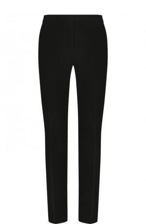 Однотонные брюки прямого кроя Elie Saab. Цвет: черный