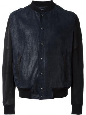 Куртка-бомбер Drome. Цвет: синий