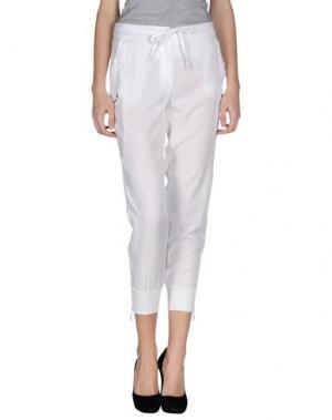 Повседневные брюки DIVINA. Цвет: белый