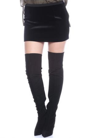 Юбка Emma Monti. Цвет: черный