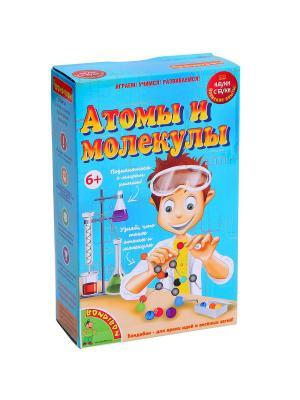 Японские опыты Науки с Буки BONDIBON, Атомы и молекулы, арт. 196435 BONDIBON. Цвет: бежевый, голубой