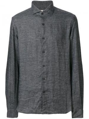 Классическая рубашка Xacus. Цвет: серый