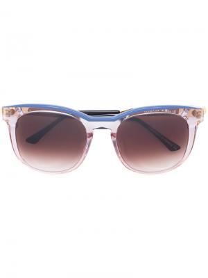 Прозрачные солнцезащитные очки Thierry Lasry. Цвет: розовый и фиолетовый