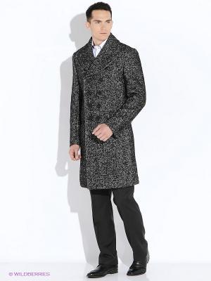 Пальто VINCHI. Цвет: серый