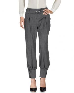 Повседневные брюки TAGLIA42. Цвет: свинцово-серый