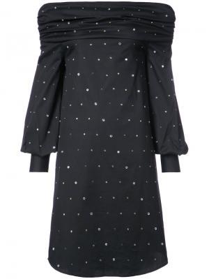 Off-the-shoulder dress Jourden. Цвет: чёрный