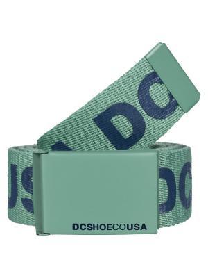 Ремень DC Shoes. Цвет: черный,зеленый