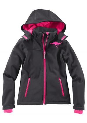 Куртка Kangaroos. Цвет: ягодный