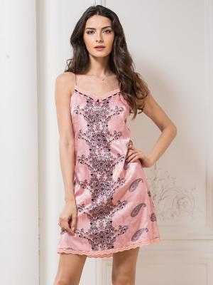 Сорочка Mia Sofia. Цвет: розовый