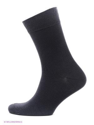 Носки, 2 пары БРЕСТСКИЕ. Цвет: темно-серый