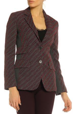 Пиджак SFIZIO. Цвет: черные, бордовые ромбы