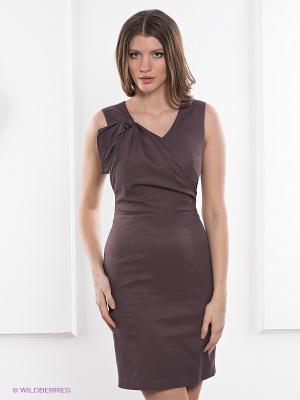 Платье Charuel. Цвет: коричневый