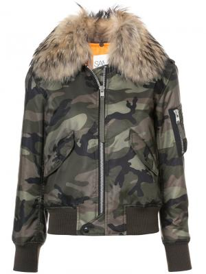 Куртка Carly Sam.. Цвет: зелёный