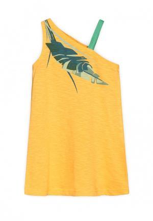 Платье Ёмаё. Цвет: желтый