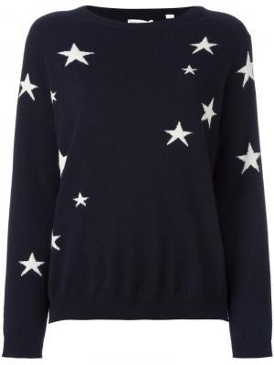 Свободный свитер Chinti And Parker. Цвет: синий