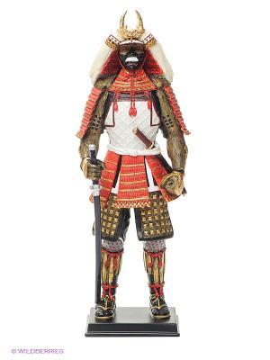Статуэтка Феодал Такеда Синген Veronese. Цвет: золотистый, белый, черный, красный
